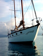 Offering sailing trips from Panama to Colombia 031