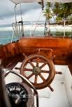 Boat Colombia to San Blas 020