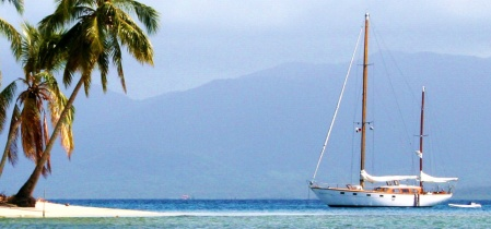 Sailing trip from Panama to Colombia 116