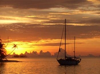 Boat Panama to Colombia via San blas 119