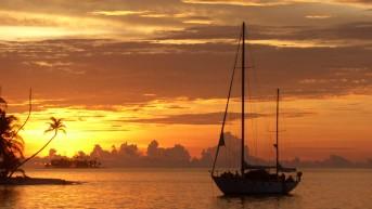 Sailing from Cartagena to Panama 114