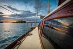 Sailing Cartagena to Panama sunset arrival in San Blas 097