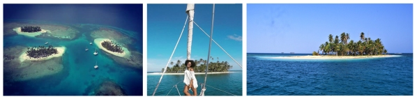 Boat Colombia to Panama San Blas Adventure