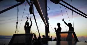 San Blas Adventure Blue Sailing boat Panama to Colombia