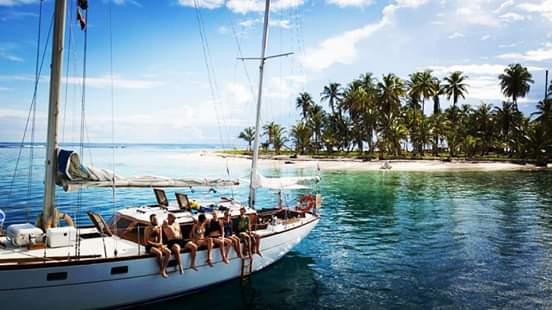 Sailboat tour from Cartagena to Panama
