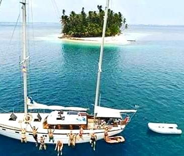 Panama to Colombia Ave Maria Sailing