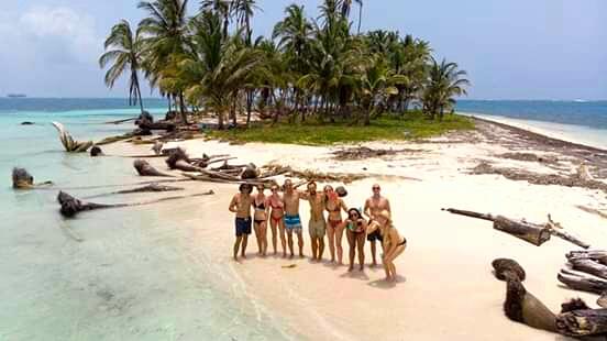 Boat from Panama to Cartagena via the San Blas Islands